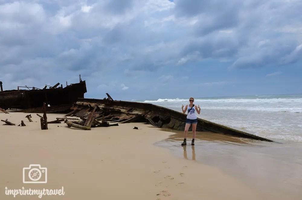 Fraser Island, Wrack der Moheno