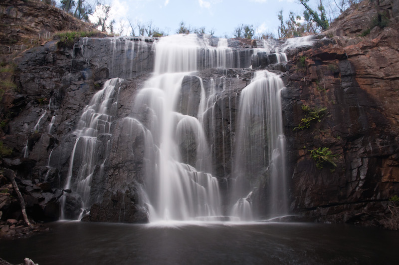 Mc Kenzie Falls mit Graufilter