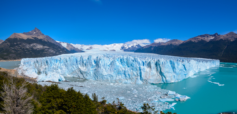 Panoramafotos in Lightroom erstellen Perito Moreno