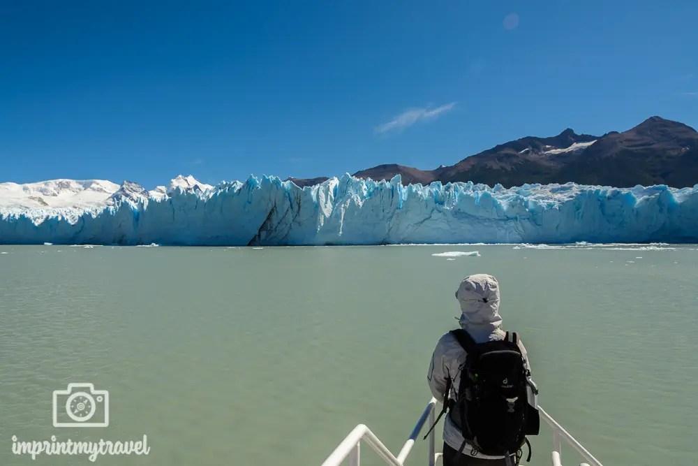 Patagonien Highlights, Perito Moreno, Bootsfahrt