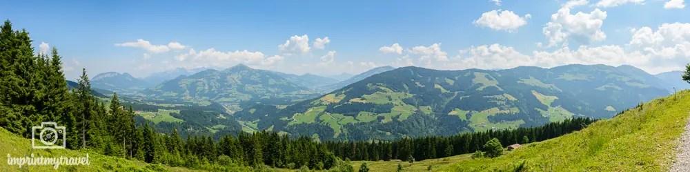 Panoramabilder in Lightroom erstellen Tirol