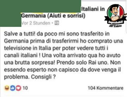 Canali Italiani all'estero