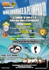 Match d'impro à Gap 2011