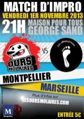 Match à Montpellier (2013)