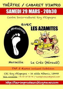 Cabaret avec les Azamites (2014)