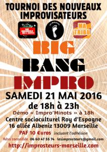 Tournoi Big Bang Impro 2016