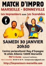 Match d'impro Marseille Bonneville 2016