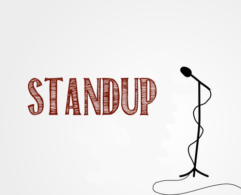 """Translations of """"stand up"""""""