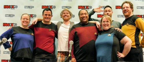 The Dandies & Friends - improvised Star Trek adventures