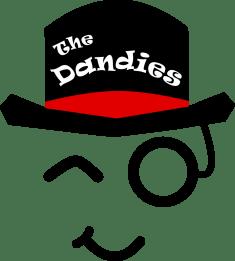 The Dandies - transparent logo