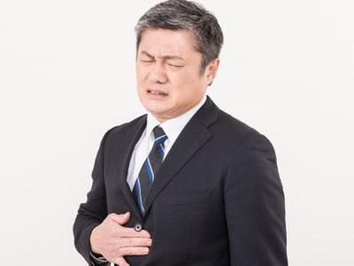胃の不快感がくり返されるなど胃腸に弱い自覚症状のある人はピロリ菌の感染を疑いあり