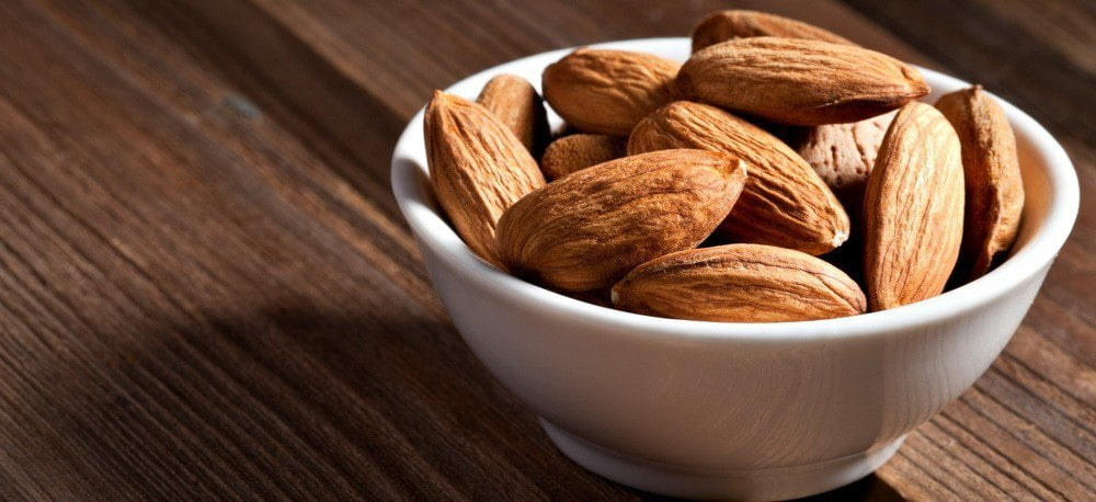 image of bowl of almonds
