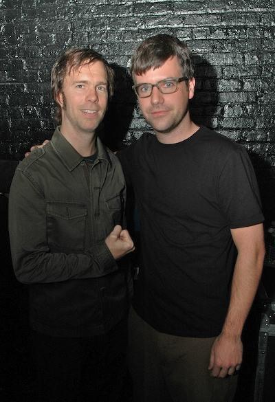 Ben Folds (E) e Charlie Todd (D) - no fim das contas, nem tão parecidos assim
