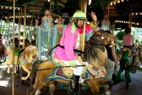 Carousel Horse Race