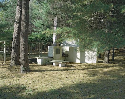 Constantino Nivola outdoor room Artists Handmade Houses
