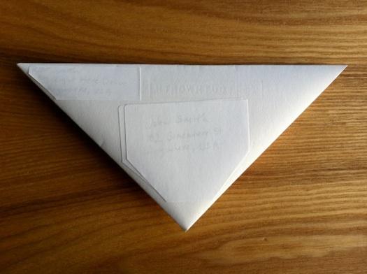 triangular letter relabeled