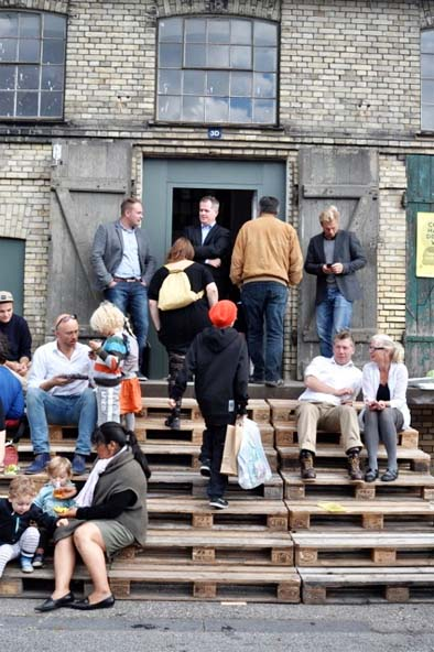 pallet staircase Lot 45 Copenhagen