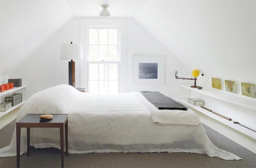 chic wrinkled linen or gauze bed spread