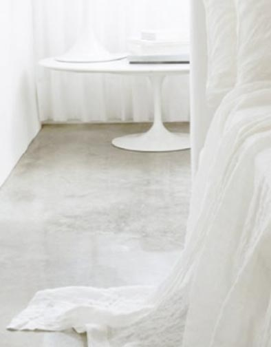 chic wrinkled linen bed spread