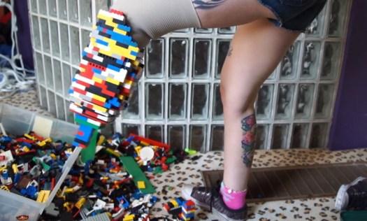 amputee lego prosthetic