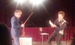 poesie et violon improvisé avec didier Lockwood