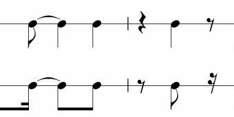 rythme bossa nova
