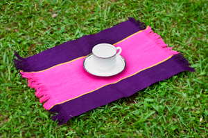 Mishing Table Mats – Pink & Purple