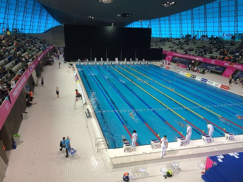 Bassin olympique Londres