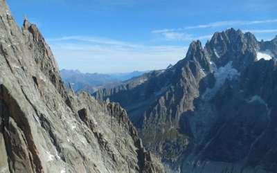 Un vol en parapente depuis l'Aiguille du Midi à Chamonix
