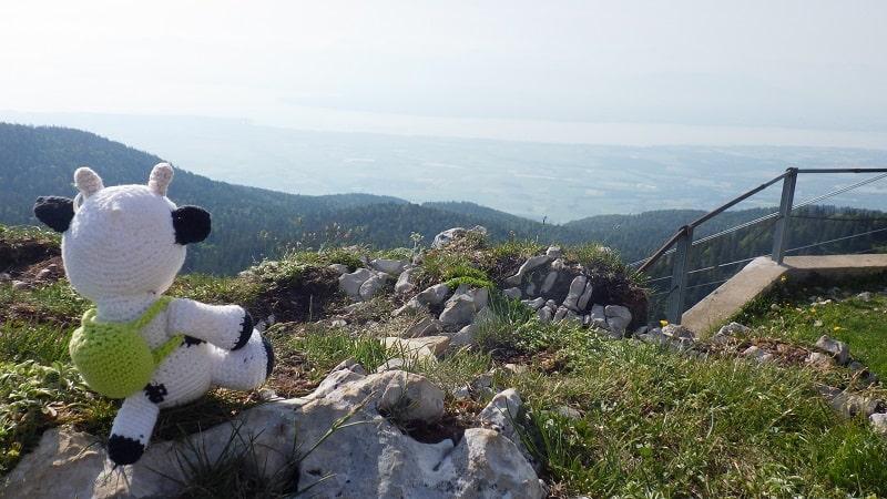 Pause au sommet, Tour de la Dôle