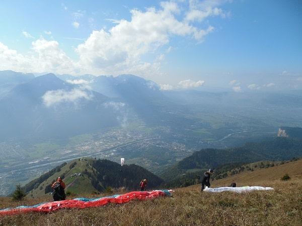 marche et vol au Mole, Haute Savoie