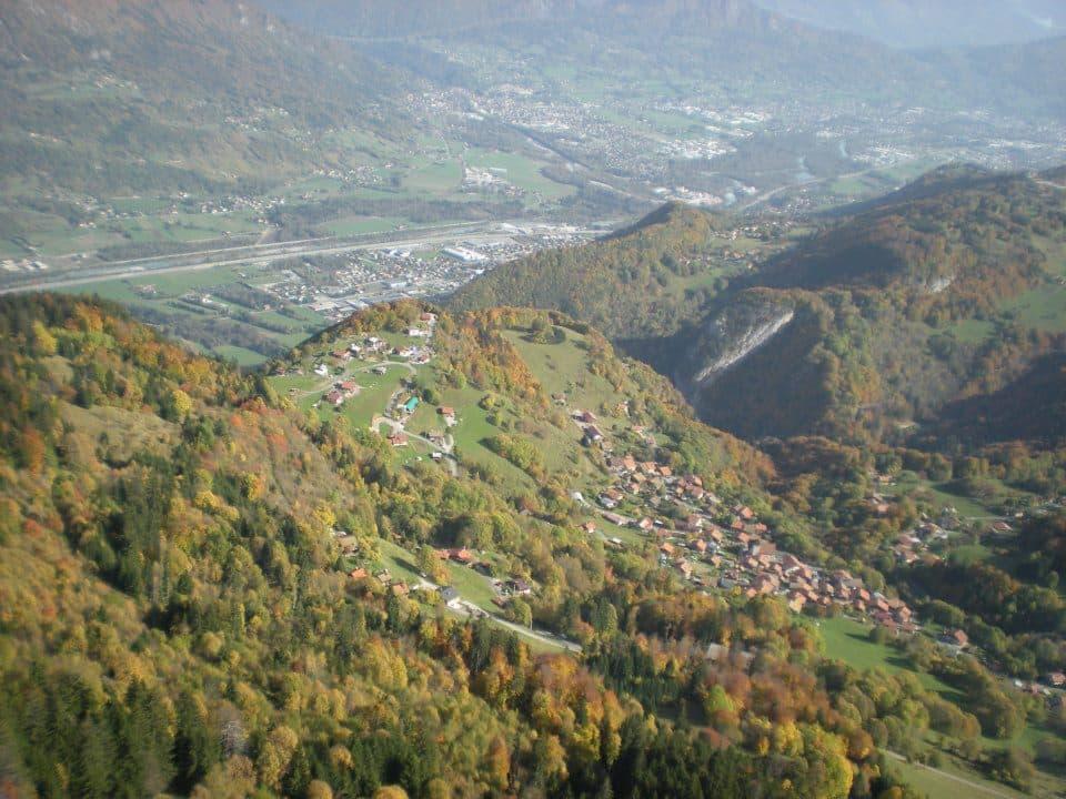 vols d'automne en Haute Savoie