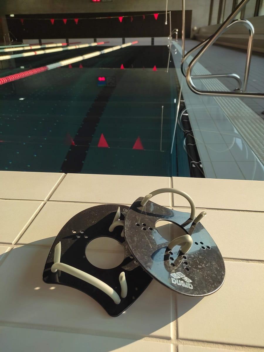 les plaquettes, matériel pour progresser en natation