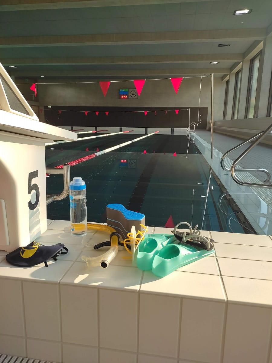 le matériel pour progresser en natation