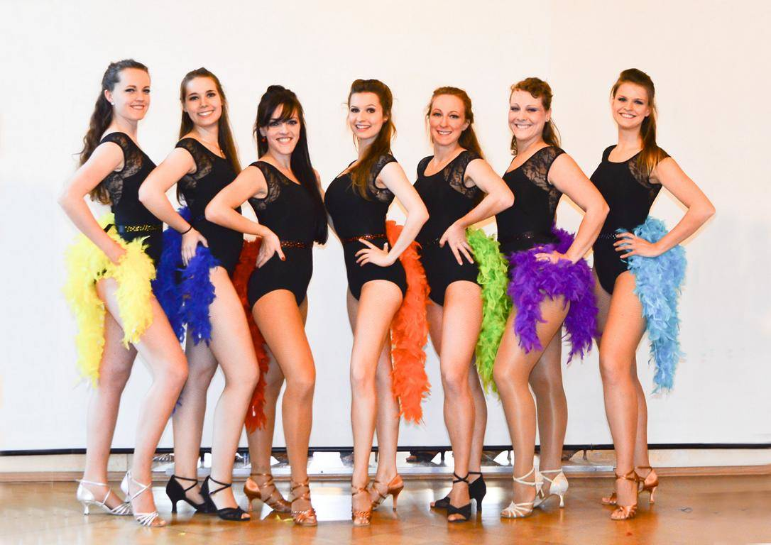 Impulso Latino | Latin Ladies Showteam
