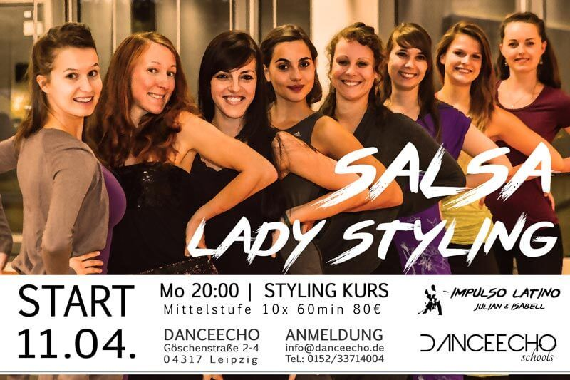 Impulso Latino | Salsa Lady Styling Kurs