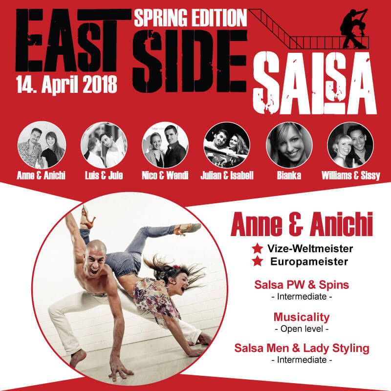 East Side Salsa // Anne & Anichi