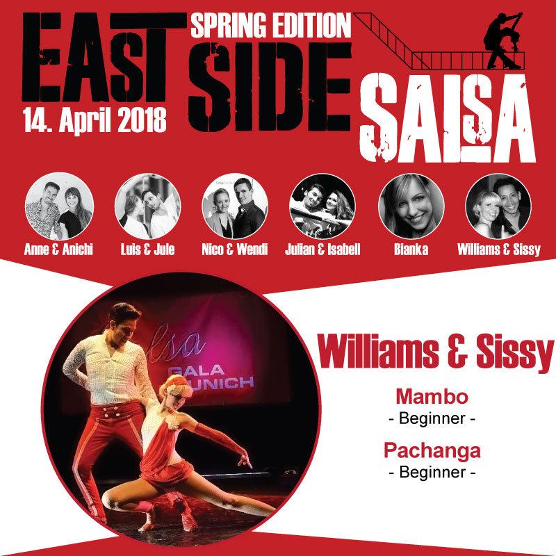 East SIde Salsa // Williams & Sissy