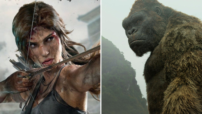 Tomb Raider y Skull Island