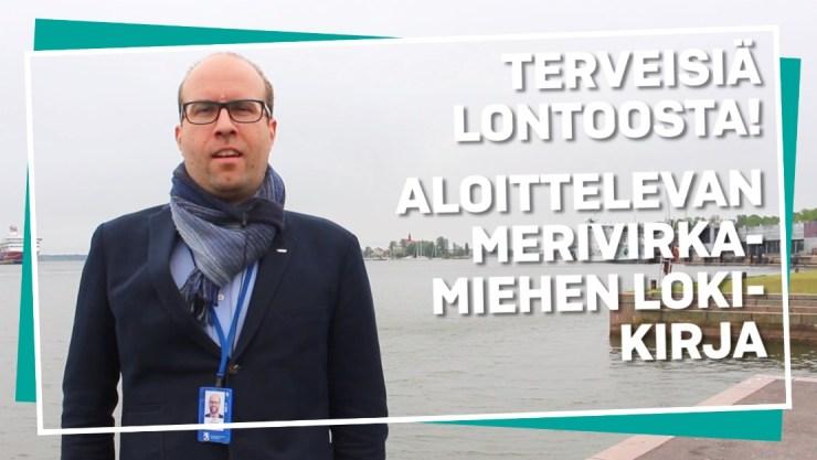 Impulssi-video: Terveisiä Lontoosta! Aloittelevan merivirkamiehen lokikirja