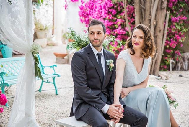 Vestido de novia diseñado por Impúribus, la firma de moda especializada en novias e invitadas