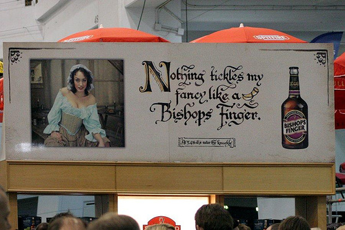 Great British Beer Festival Ad by oiyou on flickr