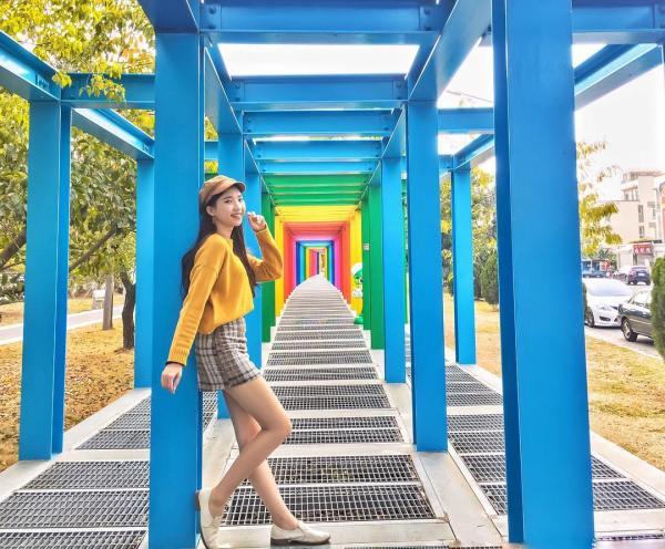 新營美術園區 台南景點,彩虹景點,台南新營,彩虹