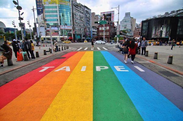 西門町 彩虹地景,彩虹景點,彩虹