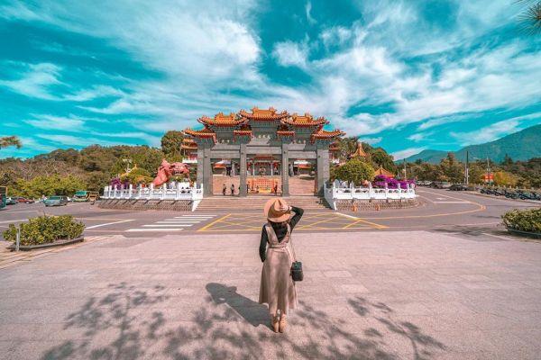 日月潭文武廟是台灣最高的文武廟