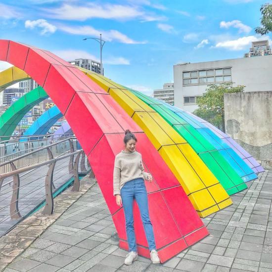 新北環狀線幸福站 | 中港大排親水步道