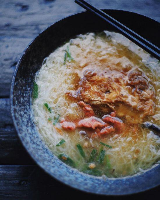 北竿-芹壁鏡沃小吃部,馬祖美食,老酒麵線