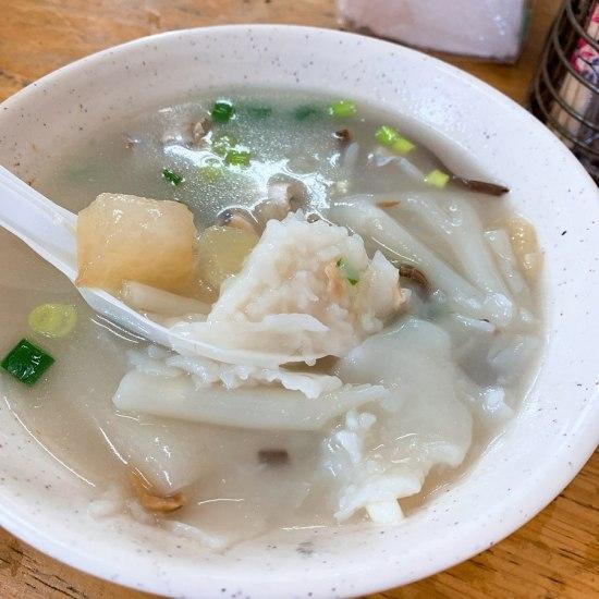 南竿-阿妹的店鼎邊糊,馬祖美食,南竿美食,燕餃湯