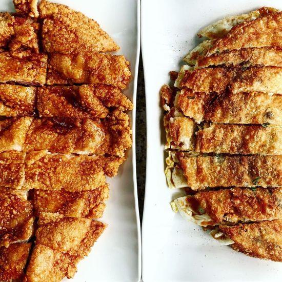 楓樹林炸雞排,九萬蔥油餅,東莒-楓樹林小吃,東莒美食,馬祖美食