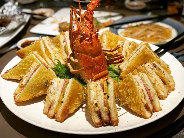 新東南海鮮餐廳-龍蝦三明治|台菜餐廳推薦,台北聚餐推薦,家庭聚餐推薦,台北美食,全台美食